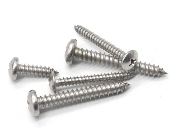 Slotted Self Tapping Screws , Stainless Steel Self Tapping Bolts Sus304 Sus316