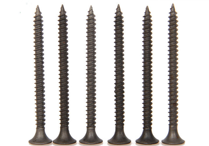 Slotted / Pozi Bugle Head Drywall Screws , Self Tapping Plasterboard Screws 3.5 X 25mm