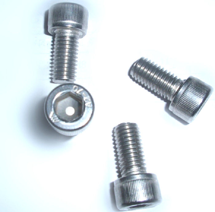 Security High Tensile Stainless Steel Screws Din 912 For Marine Use Tamper Proof Resistance